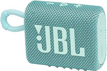 Портативная акустика JBL GO3 TEAL бирюзовый