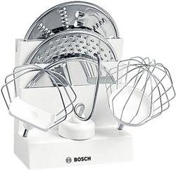 Пластиковая подставка для венчиков, крюков для теста и дисковых терок Bosch MUZ 4 ZT1 00461751 цена 2017