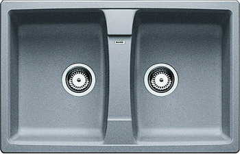 Кухонная мойка BLANCO LEXA 8 SILGRANIT алюметаллик мойка lexa 8 s alumetallic 514701 blanco