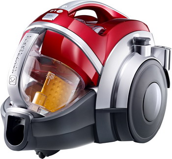 Пылесос LG V-K 89682 HU красный пылесос lg v c5762