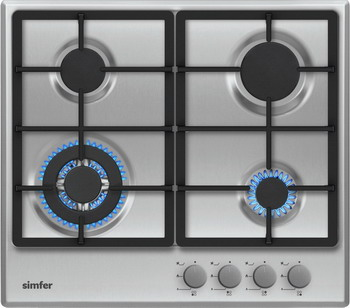Встраиваемая газовая варочная панель Simfer H 60 V 41 M 511 цена