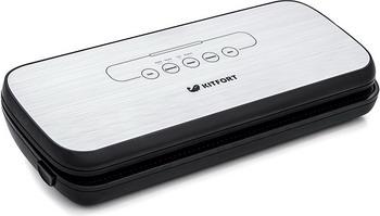 Вакуумный упаковщик Kitfort KT-1502-2 чepный вакуумный упаковщик kitfort kt 1502 1 white grey