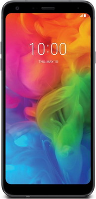 Смартфон LG Q7 черный ремень мужской askent цвет черный rm 6 lg размер 125
