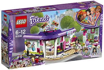 Конструктор Lego Арт-кафе Эммы LEGO Friends 41336 конструктор lego friends арт кафе эммы 41336