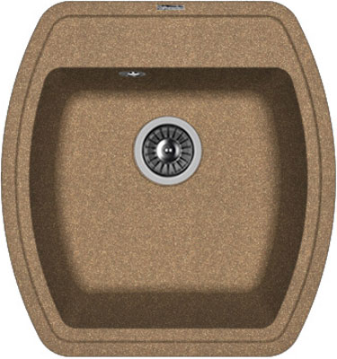 Кухонная мойка Florentina Нире-480 480х510 коричневый FG искусственный камень все цены