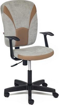 Кресло Tetchair OSTIN (ткань серый/бронзовый Мираж грей/TW-21) недорго, оригинальная цена