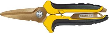 Ножницы по металлу Stanley STHT0-14103 лезвия с титановым покрытием 0-14-103