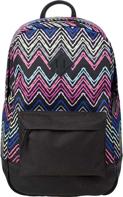 Рюкзак молодежный №1 School цветные зигзаги ko 012061
