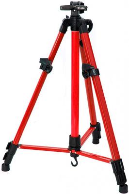 Мольберт телескопический Белоснежка 67-BS тренога метал. красный