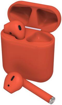 Фото - Вставные наушники Ritmix RH-825BTH TWS red вставные наушники ritmix rh 825bth tws white