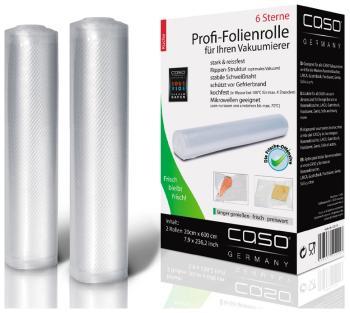 Рулоны для вакуумной упаковки CASO VC 20*600 цена