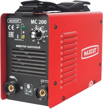 Фото - Сварочный аппарат MaxCut MC 200 мотобур maxcut mc 55 3 л с