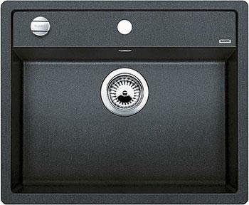 Кухонная мойка BLANCO DALAGO 6-F SILGRANIT антрацит с клапаном-автоматом кухонная мойка blanco dalago 6 f silgranit алюметаллик с клапаном автоматом
