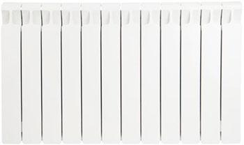 Водяной радиатор отопления RIFAR Monolit 500 х 12 сек биметаллический радиатор rifar monolit 500 5 сек