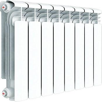 Водяной радиатор отопления RIFAR Alum 350 х 6 сек биметаллический радиатор rifar рифар b 350 6 сек кол во секций 6 мощность вт 816