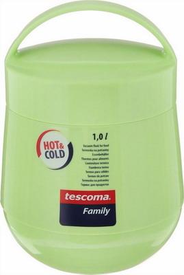 Термос Tescoma FAMILY 1 0 л 310582 термос attribute family avf402 салатовый серый 1 8 л