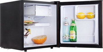 Минихолодильник TESLER RC-55 BLACK цены