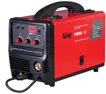 Сварочный аппарат FUBAG IRMIG 160 + маска сварщика Fubag Optima 9-13 маска сварщика хамелеон fubag optima 9 13