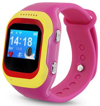 Детские часы-телефон Ginzzu 13234 501 pink 0.98 micro-SIM