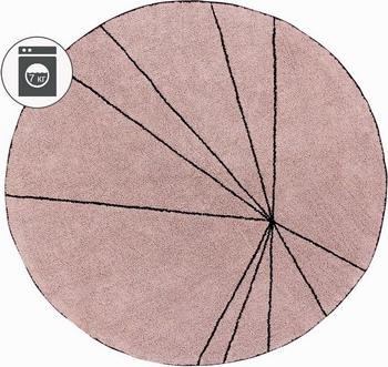 Ковер Lorena Canals Trace Лучи винтажный розовый 160 D C-TRACE-VINTNU ковер lorena canals trace лучи лесная роза 160 d c trace wood