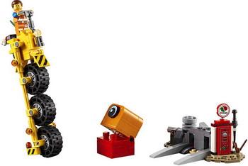 Конструктор Lego Трехколёсный велосипед Эммета! 70823 LEGO Movie 2 цена в Москве и Питере