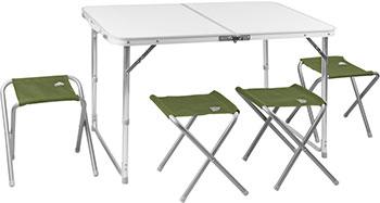 Комплект мебели TREK PLANET EVENT SET 120 (стол и 4 стула) 70665 набор мебели trek planet event set 95 стол и 4 стула 70667