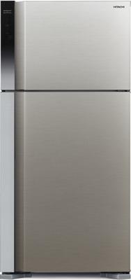 Двухкамерный холодильник Hitachi R-V 662 PU7 BSL серебристый бриллиант двухкамерный холодильник hitachi r v 662 pu7 bsl серебристый бриллиант