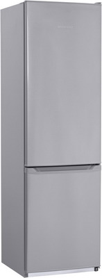 цены Двухкамерный холодильник NordFrost NRB 120 332 серебристый металлик