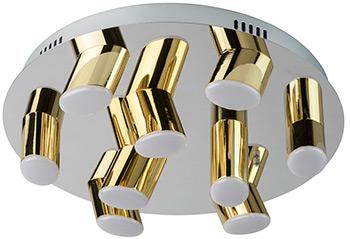 Люстра потолочная DeMarkt Фленсбург 609013709 180*0 2W LED 220 V люстра потолочная demarkt фленсбург 609013809 180 0 2w led 220 v