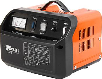 Зарядное устройство для АКБ WESTER CH 15 цена в Москве и Питере