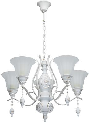 Люстра подвесная MW-light Версаче 639011505 5*60 W E 27 220 V подвесная люстра mw light версаче 639011505