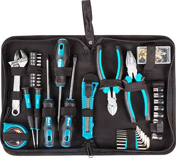 Набор для слесарных работ Bort BTK-37 набор ручного инструмента bort btk 160 38 шт