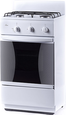 Комбинированная плита Flama CK 2201 W белый