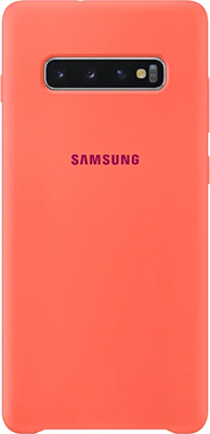 Чехол (клип-кейс) Samsung S 10+ (G 975) SiliconeCover pink EF-PG 975 THEGRU