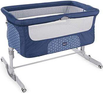 Детская кроватка Chicco Next2Me Dream (Navy) детская кроватка chicco next2me standard pearl 00079339840000