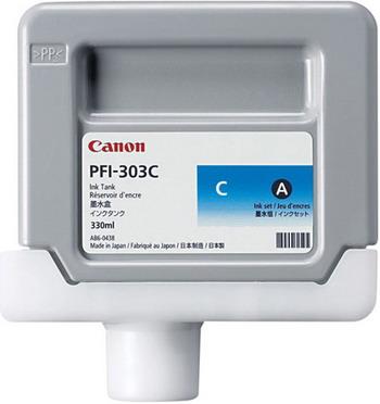 Картридж Canon PFI-303 C 2959 B 001 Голубой