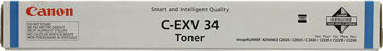 Тонер-картридж Canon C-EXV 34 C 3783 B 002 Голубой