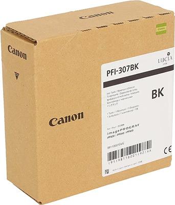 Фото - Картридж Canon PFI-307 BK 9811 B 001 Чёрный bering 10126 307