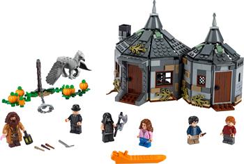 Конструктор Lego Harry Potter TM 75947 Хижина Хагрида: спасение Клювокрыла