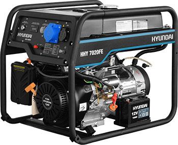Электрический генератор и электростанция Hyundai HHY 7020FE