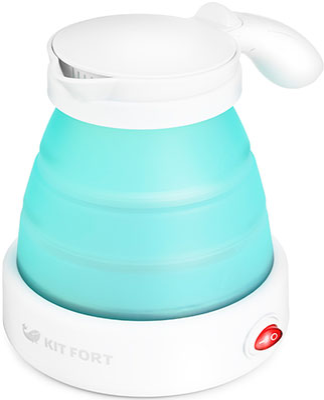 Чайник электрический Kitfort KT-667-2 голубой