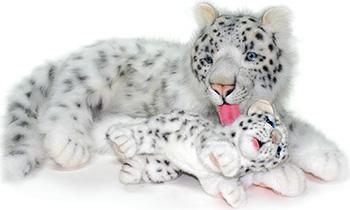 Мягкая игрушка Hansa Creation Снежный барс мама 4997