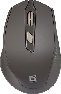 Беспроводная мышь Defender Genesis MM-785 коричневый (52787) мышь беспроводная hp 200 silk золотистый чёрный usb 2hu83aa
