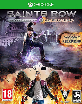 Игра для приставки Microsoft Xbox One Saints Row IV - Re-Elected все цены