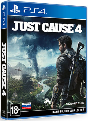 лучшая цена Игра для приставки Sony PS4 Just Cause 4 Стандартное издание