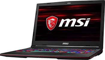 Ноутбук MSI GL63 8SDK-1034XRU (9S7-16P732-1034) Черный игровой ноутбук msi gl63 8sdk 9s7 16p732 488 черный