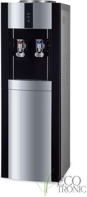 Кулер для воды Ecotronic Экочип V21-L black-silver