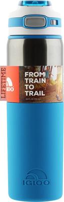 Кружка-термос Igloo из нержавеющей cтали ''Tahoe'' 710 мл Deep Sea пластиковая бутылка для воды igloo hydration tahoe aqua 710 мл