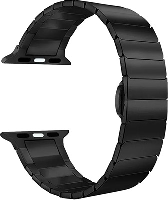 Ремешок для часов Lyambda для Apple Watch 42/44 mm CANOPUS DS-APG-05-44-BL Black цены онлайн