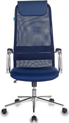 Кресло Бюрократ KB-9N/DB/TW-10N синий кресло компьютерное бюрократ kb 9 eco